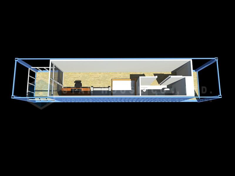 8 x 40ft Business unit-2 Model MC-4005